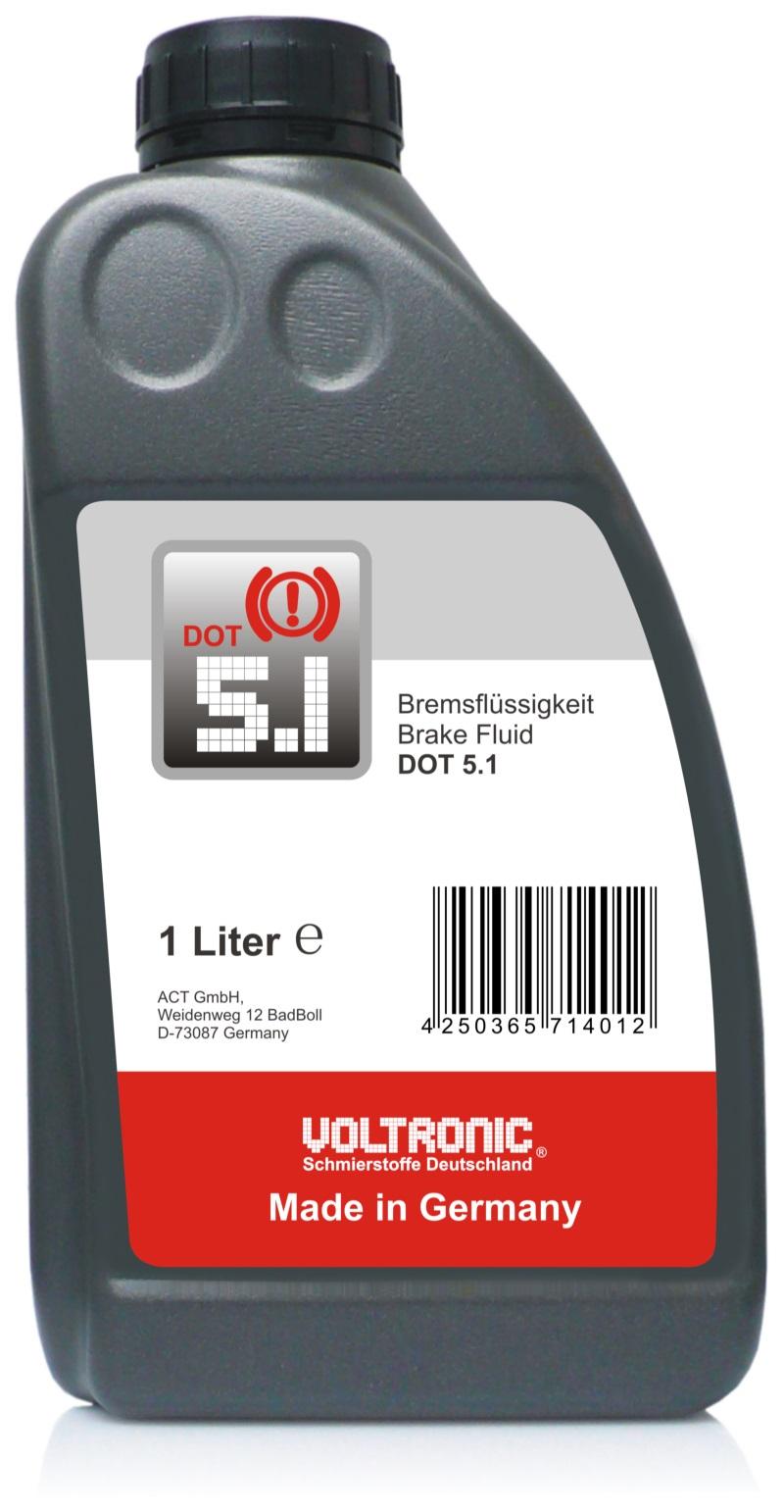 Dot 5 1 Brake Fluid >> VOLTRONIC® Brake Fluid DOT 5.1   Lubricant, Motor oil ...
