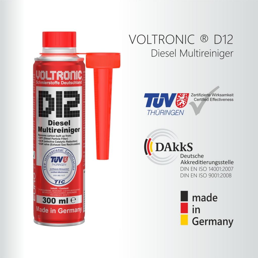 VOLTRONIC ® D12 Diesel Multireiniger